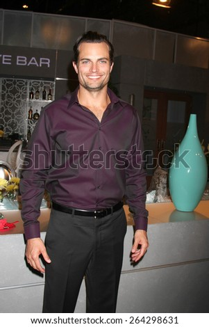 LOS ANGELES - MAR 26:  Scott Elrod at the Young & Restless 42nd Anniversary Celebration at the CBS Television City on March 26, 2015 in Los Angeles, CA - stock photo