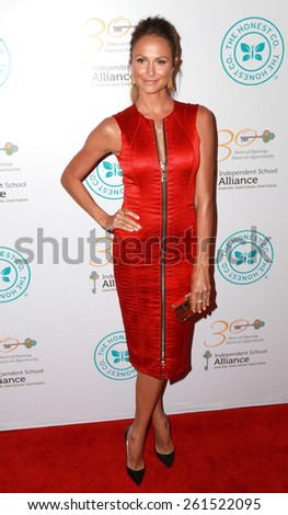 LOS ANGELES - MAR 17:  Stacy Keibler at the 2015 Impact Awards Dinner at the Beverly Wilshire Hotel on March 17, 2015 in Beverly Hills, CA - stock photo