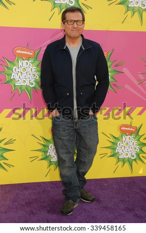 LOS ANGELES - MAR 23 - Steve Carell arrives at the Nickelodeons 2013 Kids Choice Awards on March 23,  2013 in Los Angeles, CA              - stock photo