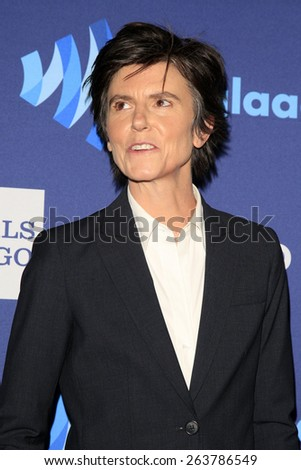 LOS ANGELES - MAR 21:  Tig Notaro at the 26th Annual GLAAD Media Awards at the Beverly Hilton Hotel on March 21, 2015 in Beverly Hills, CA - stock photo