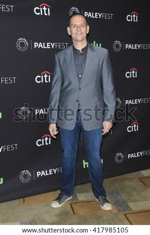 LOS ANGELES - MAR 20:  Tim Minear at the PaleyFest 2016 - American Horror Story: Hotel at the Dolby Theater on March 20, 2016 in Los Angeles, CA - stock photo