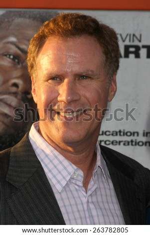 "LOS ANGELES - MAR 25:  Will Ferrell at the ""Get Hard"" Premiere at the TCL Chinese Theater on March 25, 2015 in Los Angeles, CA - stock photo"