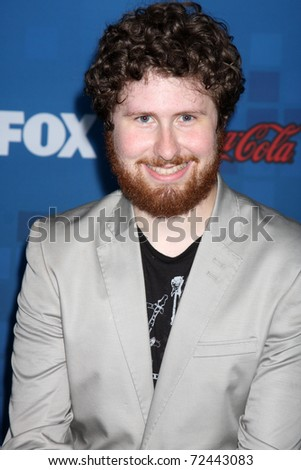 LOS ANGELES -  MARCH 3: Casey Abrams arrives at the American Idol Season 10 FInalists Party at The Grove on March 3, 2011 in Los Angeles, CA