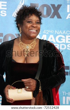 LOS ANGELES -  MARCH 4: Loretta Devine arriving at the 42nd NAACP Image Awards at Shrine Auditorium on March 4, 2011 in Los Angeles, CA