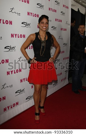 LOS ANGELES - MARCH 24:  Valery Ortiz at the 12th Anniversary Issue party for Nylon magazine at Tru Hollywood in Los Angeles, California on March 24, 2011.
