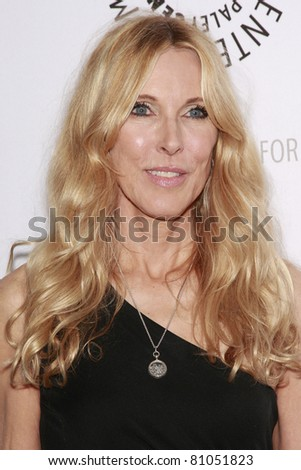 LOS ANGELES - MAY 13: Alana Stewart at the Paley Center for Media world premiere screening of 'Farrah's Story' in Beverly Hills, California on May 13, 2009 - stock photo