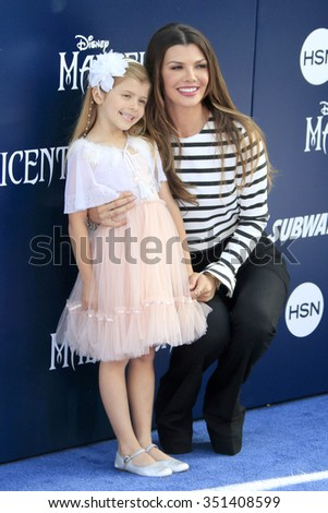 """LOS ANGELES - MAY 28:  Ali Landry at the """"Maleficent"""" World Premiere at El Capitan Theater on May 28, 2014 in Los Angeles, CA - stock photo"""