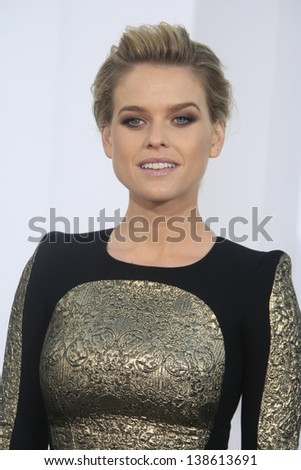 LOS ANGELES - MAY 14: Alice Eve at the Los Angeles Premiere of Star Trek Into Darkness at the Dolby Theater on May 14, 2013 in Hollywood, Los Angeles, California