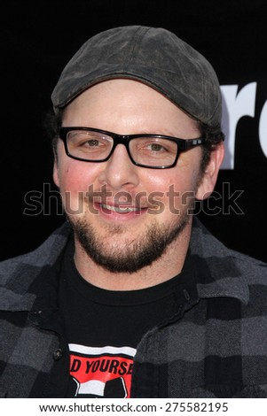 "LOS ANGELES - MAY 3:  Austin Basis at the ""Where Hope Grows"" Los Angeles Premiere at the ArcLight Hollywood Theaters on May 3, 2015 in Los Angeles, CA - stock photo"