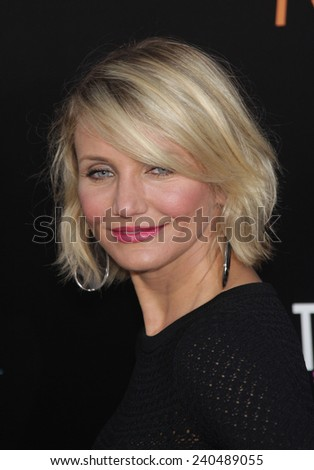 """LOS ANGELES - MAY 14:  CAMERON DIAZ arrives to the """"""""What To Expect When You're Expecting"""" Los Angeles Premiere  on May 14, 2012 in Hollywood, CA                 - stock photo"""