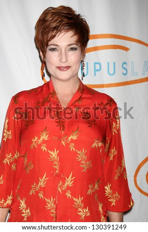 LOS ANGELES - MAY 24:  Carolyn Hennesy arrives at the 12th Annual Lupus LA Orange Ball at Beverly Wilshire Hotel on May 24, 2012 in Beverly Hills, CA