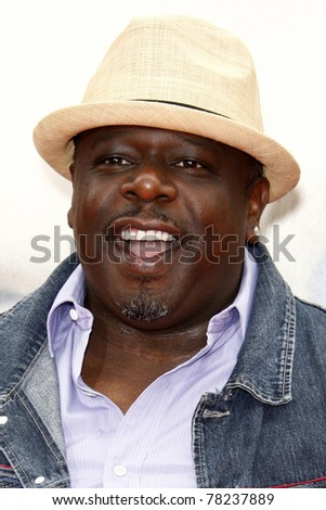 """LOS ANGELES - MAY 22:  Cedric the Entertainer arriving at the """"Kung Fu Panda 2"""" Los Angeles Premiere at Grauman's Chinese Theatre on May 22, 2011 in Los Angeles, CA - stock photo"""