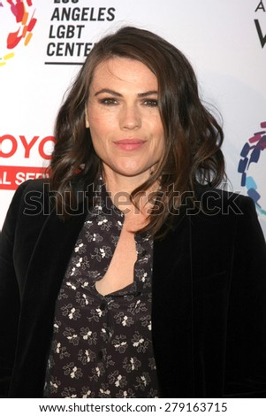 "LOS ANGELES - MAY 16:  Clea DuVall at the ""An Evening with Women"" Benefitting LA LGBT Center at the Palladium on May 16, 2015 in Los Angeles, CA"