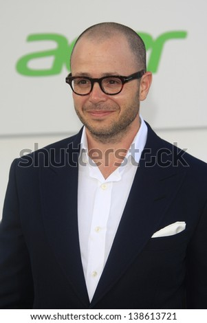 LOS ANGELES - MAY 14: Damon Lindelof at the Los Angeles Premiere of Star Trek Into Darkness at the Dolby Theater on May 14, 2013 in Hollywood, Los Angeles, California - stock photo