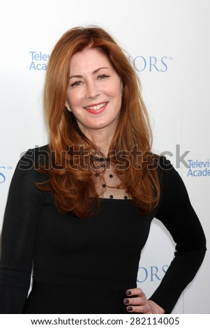 LOS ANGELES - MAY 27:  Dana Delany at the 8th Annual Television Academy Honors - Arrivals at the Montage Hotel on May 27, 2015 in Beverly Hills, CA - stock photo
