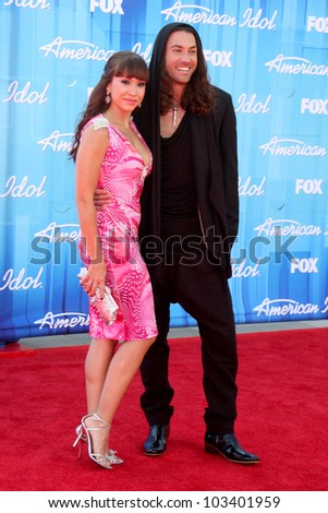"LOS ANGELES - MAY 23:  Diana DeGarmo, Ace Young arrives at the ""American Idol 2012"" Finale at Nokia Theater on May 23, 2012 in Los Angeles, CA"