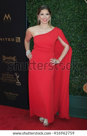 LOS ANGELES - May 1: Gaby Natale at The 43rd Daytime Emmy Awards Gala at the Westin Bonaventure Hotel on May 1, 2016 in Los Angeles, California