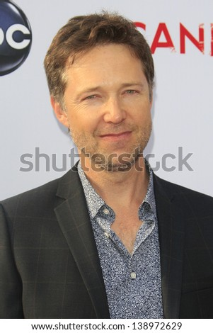 LOS ANGELES - MAY 16: George Newbern at the Academy of Television Arts & Sciences' Presents an Evening with 'Scandal' at the Leonard H. Goldenson Theater on May 16, 2013 in North Hollywood, California - stock photo
