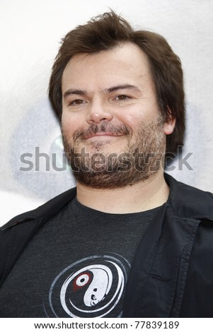 LOS ANGELES - MAY 22:  Jack Black at the premiere of Kung Fu Panda 2 at the Grauman's Chinese Theater in Los Angeles, California on May 22, 2011. - stock photo