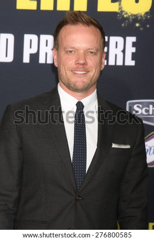 """LOS ANGELES - MAY 9:  Jason Moore at the """"Pitch Perfect 2"""" World Premiere at the Nokia Theater on May 9, 2015 in Los Angeles, CA - stock photo"""