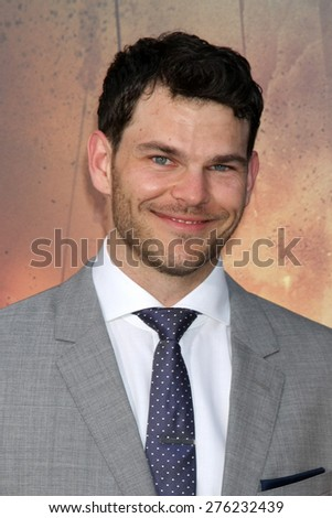 LOS ANGELES - MAY 7:  Josh Helman at the Mad Max: Fury Road Los Angeles Premiere at the TCL Chinese Theater IMAX on May 7, 2015 in Los Angeles, CA - stock photo