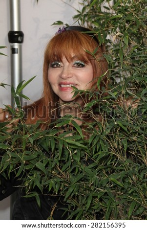 "LOS ANGELES - MAY 26:  Judy Tenuta at the ""Illicit Ivory"" World Premiere at the Witherbee Auditorium at the Los Angeles Zoo  on May 26, 2015 in Los Angeles, CA - stock photo"
