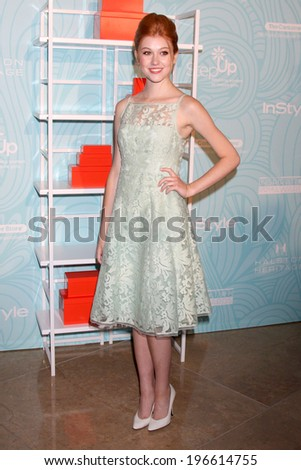 LOS ANGELES - MAY 30:  Katherine McNamara at the Step Up's Inspiration Network Luncheon at Beverly Hilton on May 30, 2014 in Beverly Hills, CA