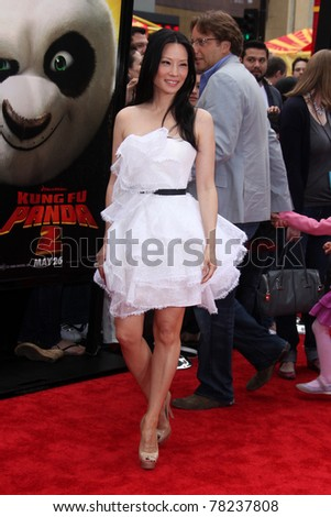 "LOS ANGELES - MAY 22:  Lucy Liu arriving at the ""Kung Fu Panda 2"" Los Angeles Premiere at Grauman's Chinese Theatre on May 22, 2011 in Los Angeles, CA"
