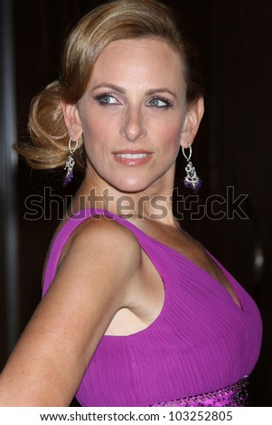 LOS ANGELES - MAY 22:  Marlee Matlin arrives at the 37th Annual Gracie Awards Gala at Beverly Hilton Hotel on May 22, 2012 in Beverly Hllls, CA