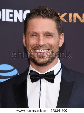 "LOS ANGELES - MAY 25:  Matt Lauria arrives to the ""Kingdom"" Season 2.5 Premiere  on May 25, 2016 in Hollywood, CA.                 - stock photo"
