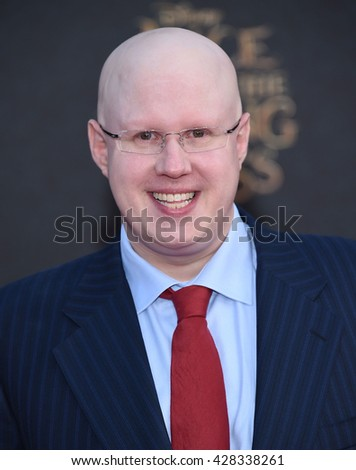 "LOS ANGELES - MAY 23:  Matt Lucas arrives to the ""Alice Through The Looking Glass"" American Premiere  on May 23, 2016 in Hollywood, CA.                 - stock photo"
