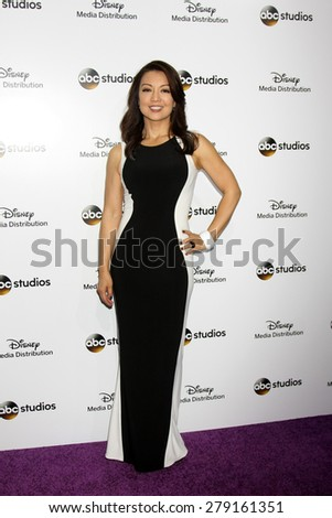 LOS ANGELES - MAY 17:  Ming-Na Wen at the ABC International Upfronts 2015 at the Disney Studios on May 17, 2015 in Burbank, CA