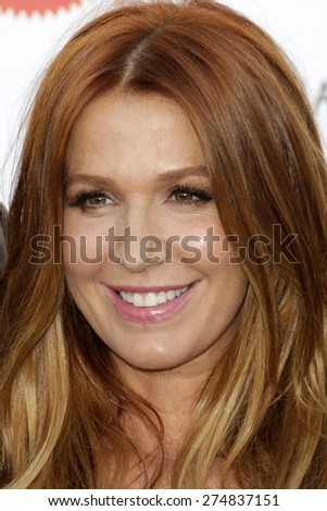 LOS ANGELES - MAY 2:  Poppy Montgomery at the 3rd Annual Mattel Children's Hospital Kaleidoscope Ball at the 3Labs on May 2, 2015 in Culver City, CA