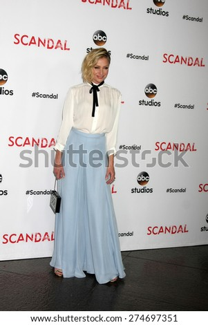 """LOS ANGELES - MAY 1:  Portia de Rossi at the """"Scandal"""" For Your Consideration ATAS Event at the Directors Guild of America on May 1, 2015 in Los Angeles, CA - stock photo"""