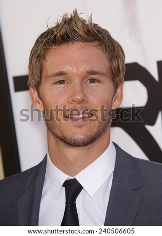 """LOS ANGELES - MAY 30:  RYAN KWANTEN arrives to """"True Blood"""" Season 5 Premiere  on May 30, 2012 in Hollywood, CA                 - stock photo"""