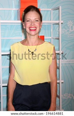 LOS ANGELES - MAY 30:  Sarah Jane Morris at the Step Up's Inspiration Network Luncheon at Beverly Hilton on May 30, 2014 in Beverly Hills, CA - stock photo