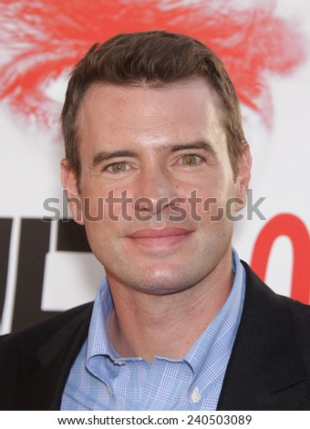 """LOS ANGELES - MAY 30:  SCOTT FOLEY arrives to """"True Blood"""" Season 5 Premiere  on May 30, 2012 in Hollywood, CA                 - stock photo"""