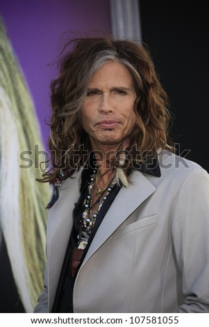 LOS ANGELES - MAY 7: Steven Tyler at the premiere of WB Pictures' 'Dark Shadows' at Grauman's Chinese Theater on May 7, 2012 in Los Angeles, California