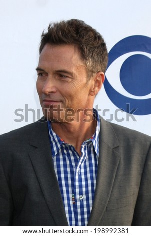 LOS ANGELES - MAY 19:  Tim Daly at the CBS Summer Soiree at the London Hotel on May 19, 2014 in West Hollywood, CA - stock photo