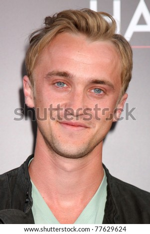 "LOS ANGELES - MAY 19:  Tom Felton arriving at the ""The Hangover Part II""  Premiere at Grauman's Chinese Theater on May 19, 2011 in Los Angeles, CA"