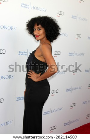 LOS ANGELES - MAY 27:  Tracee Ellis Ross at the 8th Annual Television Academy Honors - Arrivals at the Montage Hotel on May 27, 2015 in Beverly Hills, CA - stock photo