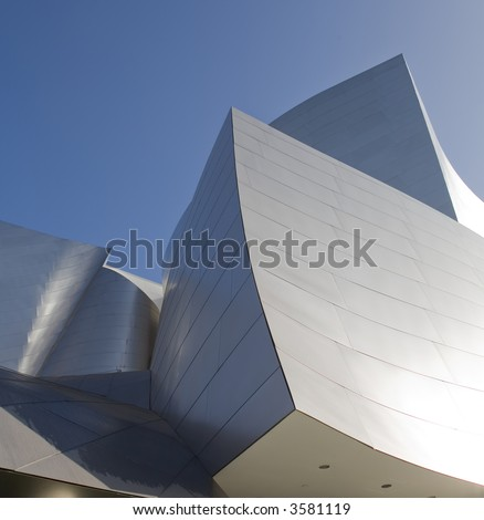 Los Angeles Music Center Building Downtown