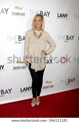 "LOS ANGELES - NOV 30:  Abby Wathen at the Screening Of LANY Entertainment's ""The Bay"" at the DOMA on November 30, 2015 in Beverly Hills, CA"