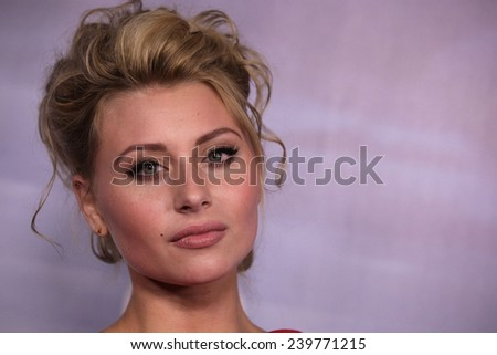 """LOS ANGELES - NOV 22:  Alyson Michalka arrives to the """"Super 8"""" DVD Launch  on November 22, 2011 in Beverly Hills, CA                 - stock photo"""