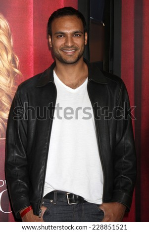 "LOS ANGELES - NOV 5:  Asif Ali at the ""The Comeback"" - Season Premiere at the El Capitan Theater on November 5, 2014 in Los Angeles, CA - stock photo"