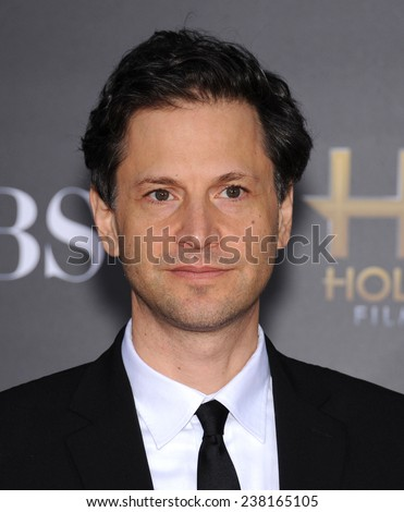 LOS ANGELES - NOV 14:  Bennett Miller arrives to the The Hollywood Film Awards 2014 on November 14, 2014 in Hollywood, CA                 - stock photo