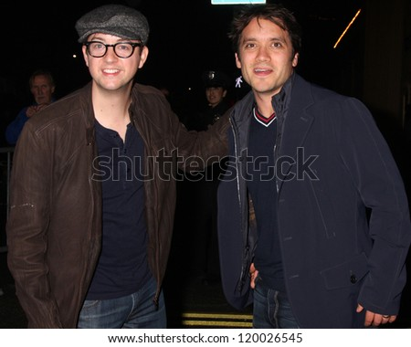 LOS ANGELES - NOV 25:  Bradford Anderson, Dominic Zamprogna arrives at the 2012 Hollywood Christmas Parade at Hollywood & Highland on November 25, 2012 in Los Angeles, CA
