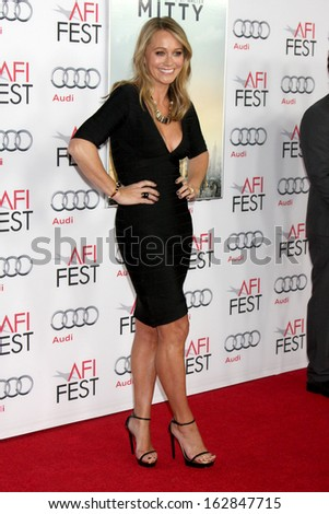 "LOS ANGELES - NOV 13:  Christine Taylor at the ""The Secret Life of Walter Mitty"" Gala Screening at AFI Fest at TCL Chinese Theater on November 13, 2013 in Los Angeles, CA"