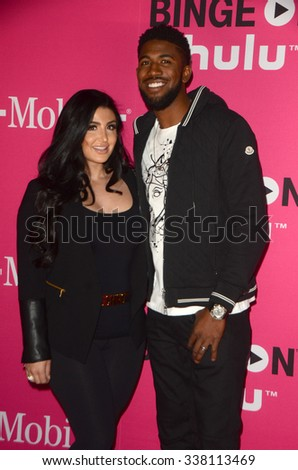 LOS ANGELES - NOV 10:  Dexter Fowler at the T-Mobile Un-carrier X Launch Celebration at the Shrine Auditorium on November 10, 2015 in Los Angeles, CA - stock photo