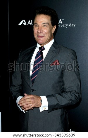 """LOS ANGELES - NOV 17:  Fernando Allende at the """"Youth"""" LA Premiere at the Directors Guild of America on November 17, 2015 in Los Angeles, CA - stock photo"""